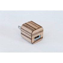 Zebrawood iPhone / iPad Charger