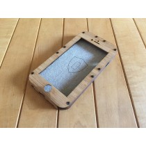 Bamboo iPhone 7 Case - Flapjack Style