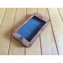 Mahogany iPhone 8 Case - Flapjack Style