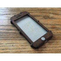 Wenge iPhone 7 Case - Flapjack Style