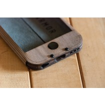 Walnut iPhone 7 Case - Slim Style
